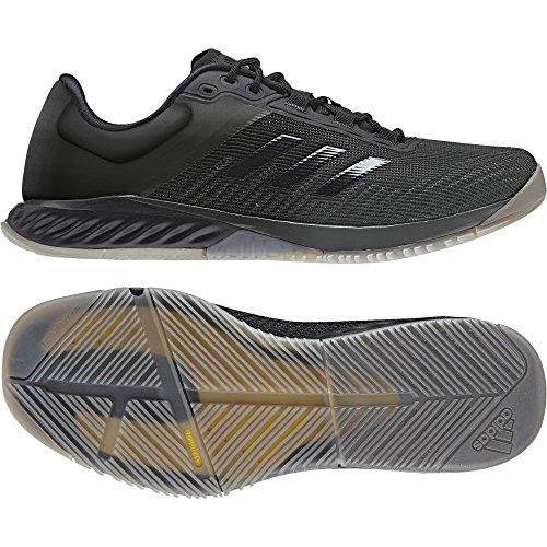 adidas Crazyfast Trainer M, Zapatillas de Deporte para Hombre Gris (Grpudg / Negbas / Eqtama)