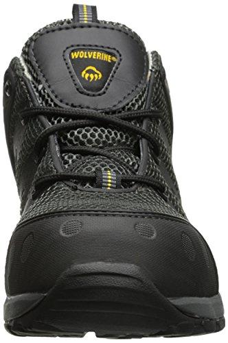 Wolverine Men's Amherst Safety Toe Shoe,Black,13 XW US