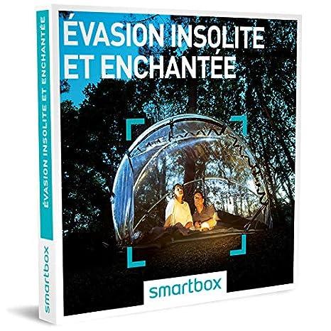 Smartbox, caja regalo Évasion Insolite et Enchantée 750 alojamientos insólitos u hoteles de 3 a 5 estrellas.: Amazon.es: Salud y cuidado personal