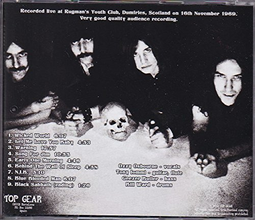 Live In Dumfries 1969 by (Black Sabbath)