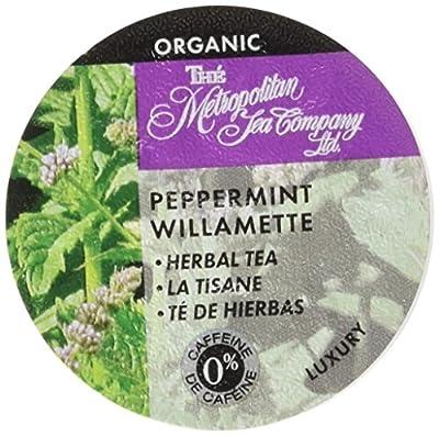Organic Peppermint Willamette Tea K-Cups - 24 count