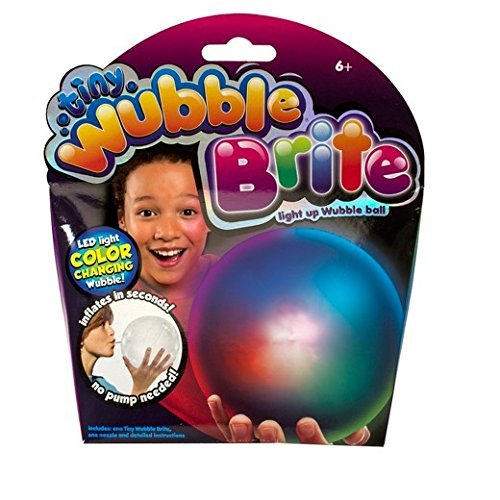 Tiny Wubble Brite Light Up Wubble Ball - LED Light Color Changing Wubble