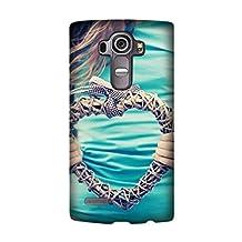 LG G4 Case, Thin Flexible Plastic Case hands heart plexus t-shirt Design By [Andrea Novak]