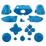 xbox one custom controller light - ModFreakz™ Full Button Set Thumbsticks Solid Light Blue For Xbox One Model 1537 Controllers