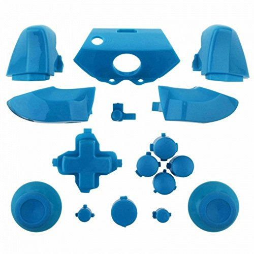 ModFreakz™ Full Button Set Thumbsticks Solid Light Blue For Xbox One Model 1537 Controllers