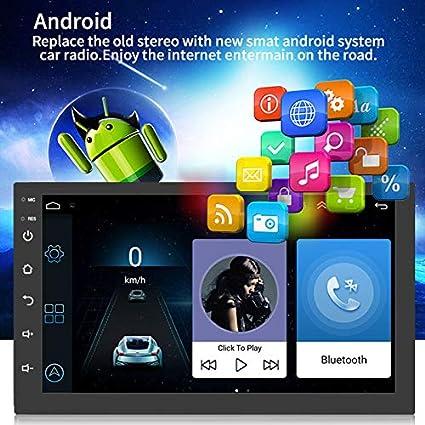 Gmxop - Navegador GPS para Coche (Android 8.1, estéreo, Doble DIN ...
