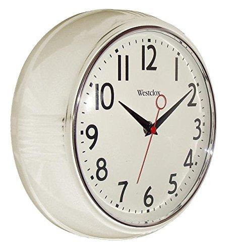Westclox 1950 Retro Wall Clock