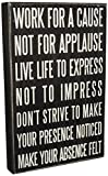Cheap Primitives by Kathy Classic Box Sign, 10″ x 15″, Live Life