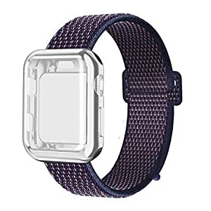 Amazon.com: QIENGO Compatible with Apple Watch Band with