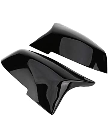 Driver side RHS black wing mirror cover for VW Polo mk4 FL 2005–2009 casing