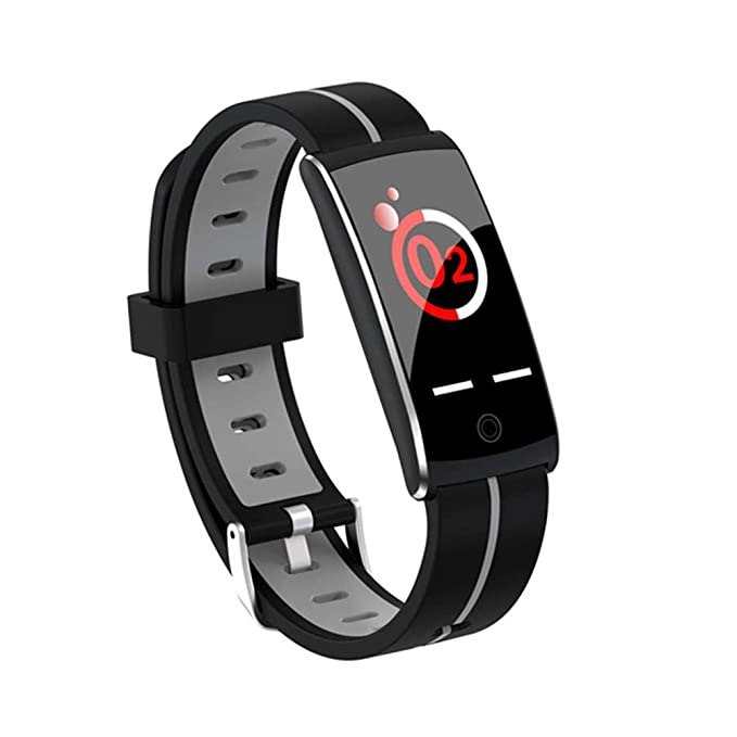 Amazon.com: Vivicute Bluetooth Smart Bracelet Sports Color Screen Wristband with Heart Rate Monitoring Waterproof Monitoring Functions Sports Supplies: ...