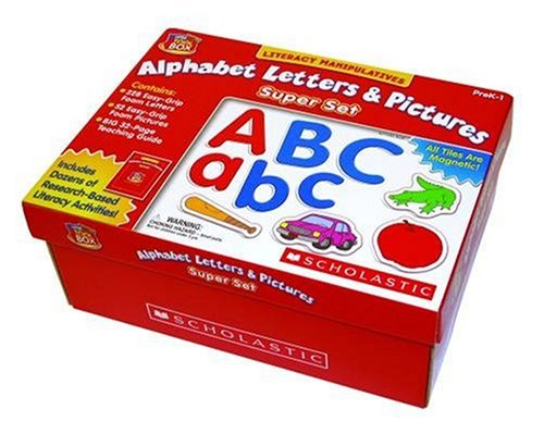 Little Red Tool Box: Alphabet Letters & Pictures Super Set