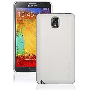 INVELLOP Concrete White Leatherette case cover for Samsung Galaxy Note 3 Note III