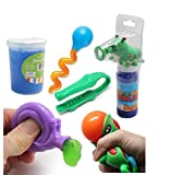 Caterpillar Bubble Fine Motor Squeeze Strength Development Bundle #2 - Hand and Finger Strength Tasks - Occupational therapy, ASD, Autism, Sensory toys, Therapy Toy