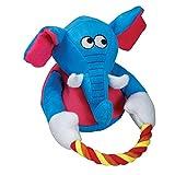 Cheap SmartPetLove Tender-Tuffs – Tug with Rope Plush Toy (Blue Elephant)