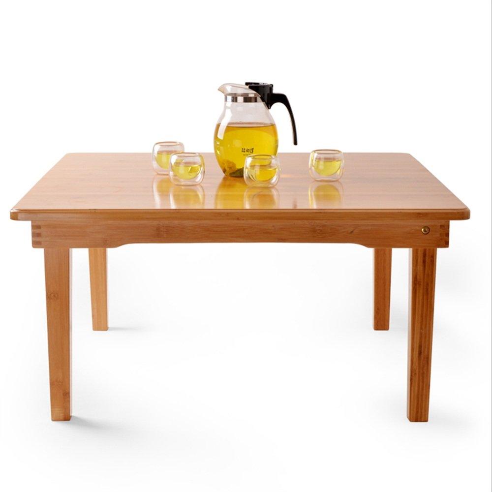 NAN 折りたたみ小さなテーブルのコーヒーテーブルの正方形のテーブルバルコニーの本のデスクホーム多機能テーブル ワークベンチ (サイズ さいず : 60*60*37CM) B07DZF6SMW 60*60*37CM 60*60*37CM