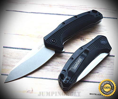 'LINK'' SPRING ASSISTED POCKET SHARP KNIFE ''MADE IN USA'' RAZOR SHARP BLADE - Premium Quality Hunting Very Sharp EMT EDC -