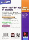 Image de 150 fiches visuelles de biologie - 2e éd. - Concours AS, AP, Kiné, Psychomotricien, Manipulateur: