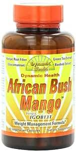 Dynamic Health Weight Management Formula Supplement, African Bush Mango, 60 Count