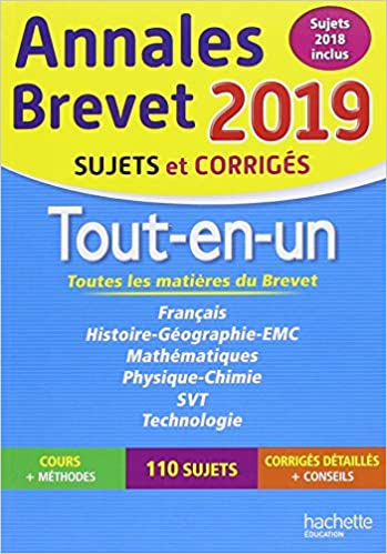 Annales Nouveau Brevet 3e Tout-en-un 2019 por Philippe Rousseau epub
