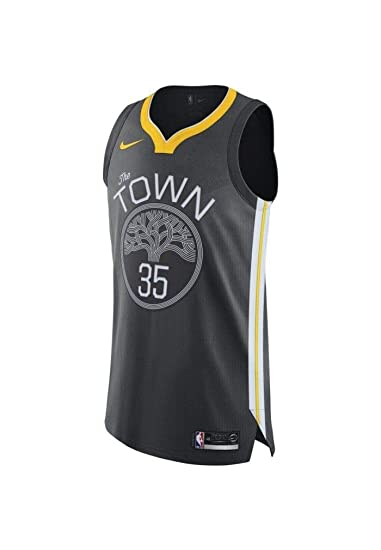 Nike NBA Golden State Warriors Kevin Durant 35 KD 2017 2018 City Edition Jersey Oficial Away, Camiseta de Niño: Amazon.es: Ropa y accesorios