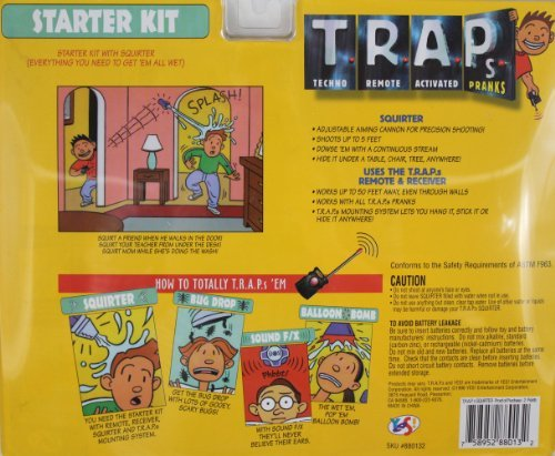 T.R.A.P's Remote Activated Water Squirter Prank Starter Kit
