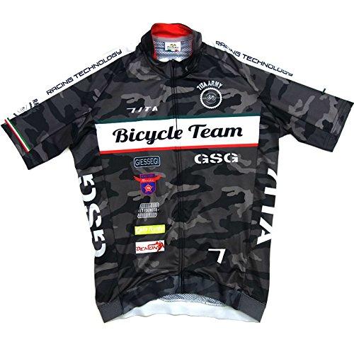 誰意志サイドボードセブンイタリア Army Bike Team Jersey カモ M(78S-ABT-JY-CM-M)