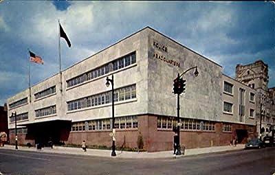 Louisville's New Ultra-Modern, Police Headquarters Building Louisville, Kentucky Original Vintage Postcard