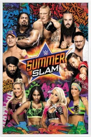 ポスター: Wrestlingポスター–WWE SummerSlam 2017( 36x 24インチ) 106637R017