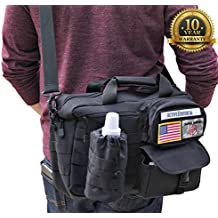 Diaper Messenger Bag & Changing Pad Combo By Active Doodie w 10 Year Warranty