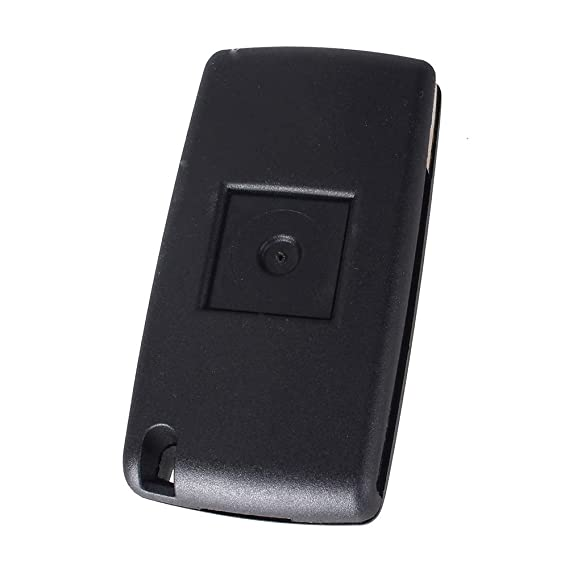 kaaka 5 Buttons Remote Fob Car Key Case for Land Rover Freelander 2 Auto Vehicle Key Shell Cover Replacement Part Black