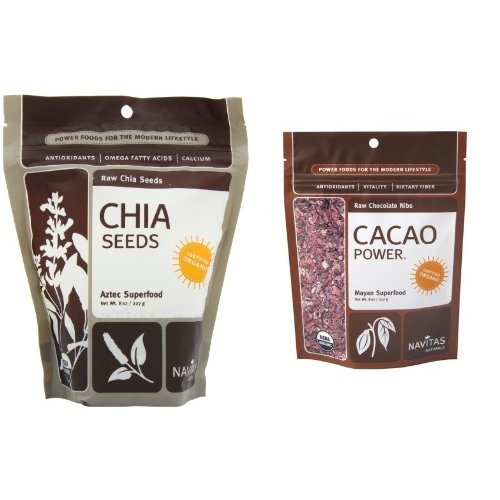 - Navitas Chia Seeds and Cacao Nibs Pack