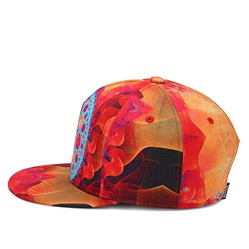 y 3D en Hombres Impresión neutros Gorras Street Las Hop Hiphop y Dance Huoduoduo de Béisbol Mujeres Los Hip de Gorras Sombreros Béisbol Gorra de 5RxqwC