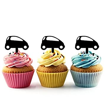 Innovedesire Mini City Car Cupcake Cake Topper para tartas ...