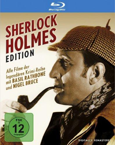 Sherlock Holmes : Complete Collection (7 Blu-ray Set) (Sherlock Holmes Complete Collection Blu Ray 1939)