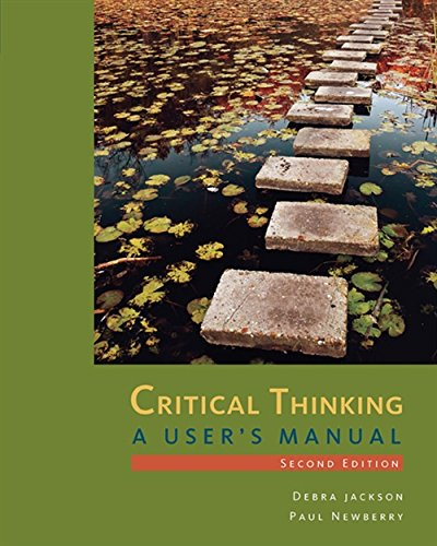 Critical Thinking: A User