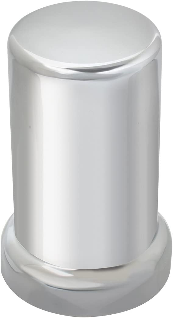 20 Pack 33mm Chrome Lug Nut Covers Flanged Style Push On Metal