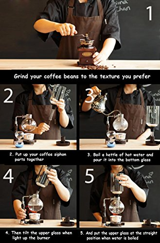 coffee syphon how to use