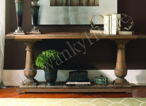 Amazon.com: Rustic Solid Wood Spring Creek Console Table
