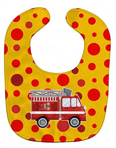 Baby Bib, Fireman's Firetruck, Large ()