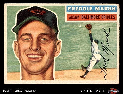 1956 Topps # 23 Fred Marsh Baltimore Orioles (Baseball Card) Dean's Cards 2 - GOOD - 1956 Baseball Topps