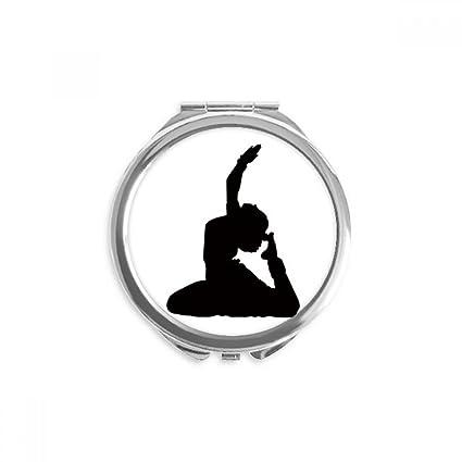 DIYthinker Arte bailarín del pavo real de la yoga deportivo ...