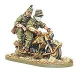 Africka Korps Kradschutzen Motorcycle Miniature