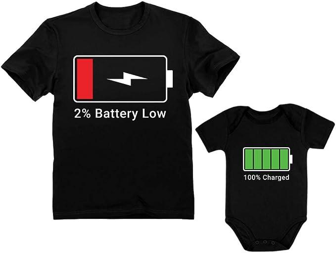 Amazon.com: Body para bebé y camiseta para hombre con ...