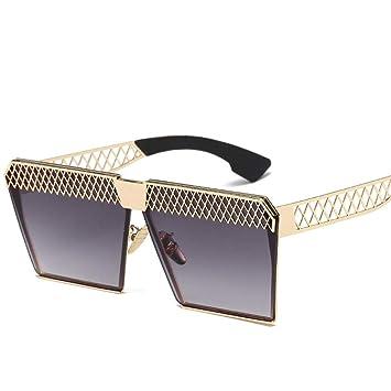 QYS Gafas de Sol polarizadas Moda para Mujer Espejo Plano ...