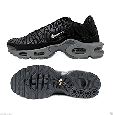 online retailer 9df42 a2427 Nike Air Max Plus Tuned TN Camo Zebra Black Mens Trainers ...