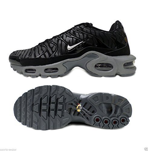 Nike Air Max Plus Tuned TN Camuflaje Cebra Zapatillas Negras Hombre Talla UK 7.5: Amazon.es: Zapatos y complementos