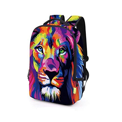 Fashion Backpack,Realdo Women Men 3D Galaxy Travel Satchel Rucksack Shoulder Bookbag School Bag