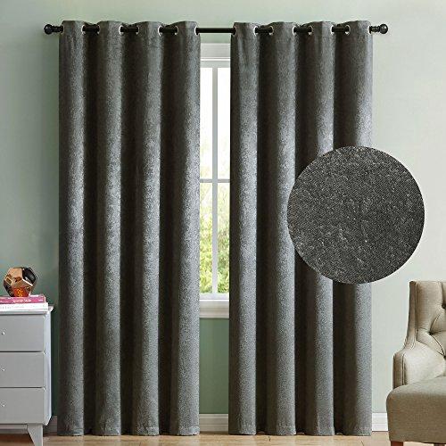 2 Blackout Room Darkening Window Curtains 96