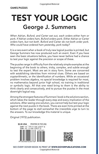 George J Summers Puzzles Ebook